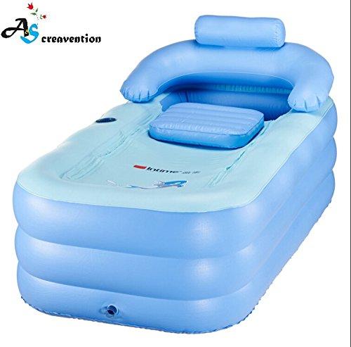 Opar Foldable Durable Adult Spa Inflatable Bath Tub With