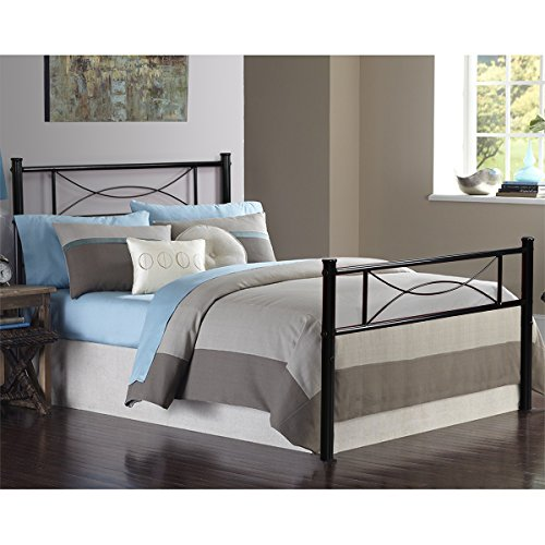 Yanni Premium Modern Easy Set Up Steel Platform Bed Frame