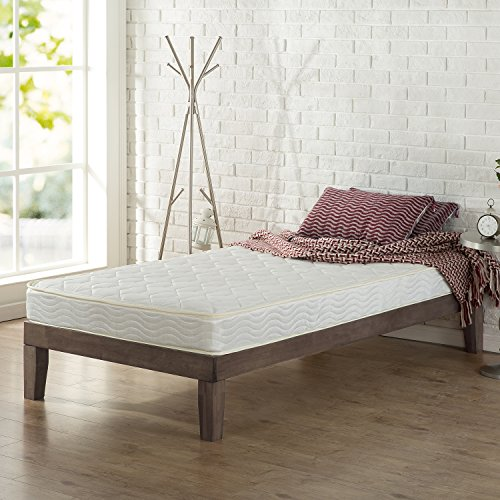 Greenforest Twin Size Metal Bed Frame With Stable Metal