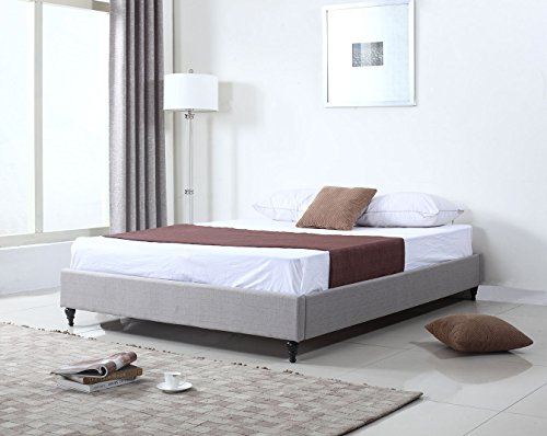 Home Life Cloth Silver Linen Chinese Non Headboard
