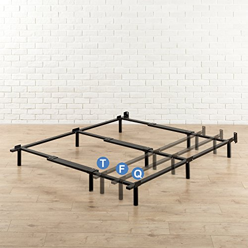 Zinus Compack Adjustable 7 Inch Heavy Duty Bed Frame For