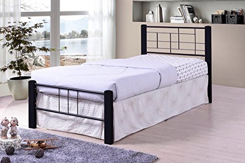 Need Mattress Only No Box Spring Black Metal Modern