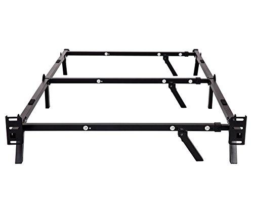Sleeptune Compact Adjustable Steel Bed Frame For Box
