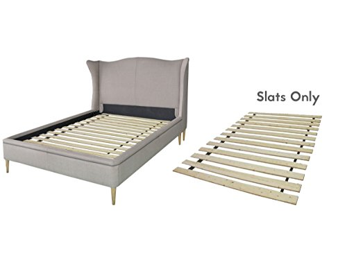 spring solution wooden bed frame slat queen luckytaker. Black Bedroom Furniture Sets. Home Design Ideas