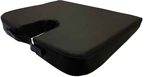 portable slanted orthopedic wedge seat cushion luckytaker. Black Bedroom Furniture Sets. Home Design Ideas