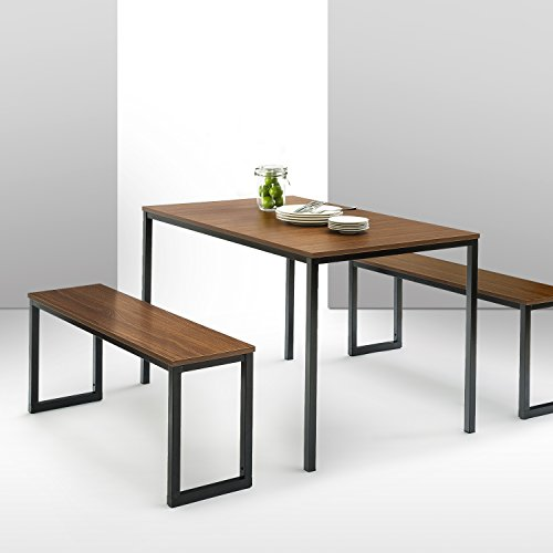 Zinus Modern Studio Collection Soho Dining Table With Two