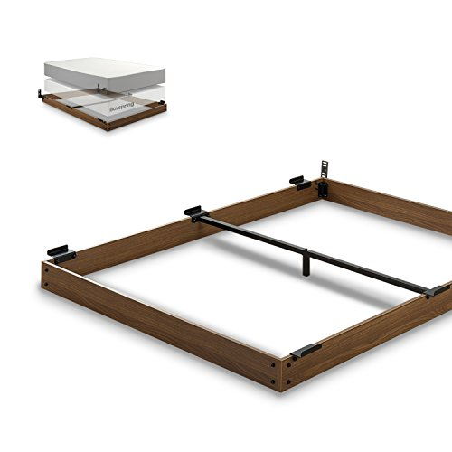 Zinus 5 Inch Wood Bed Frame For Box Spring Amp Mattress Set