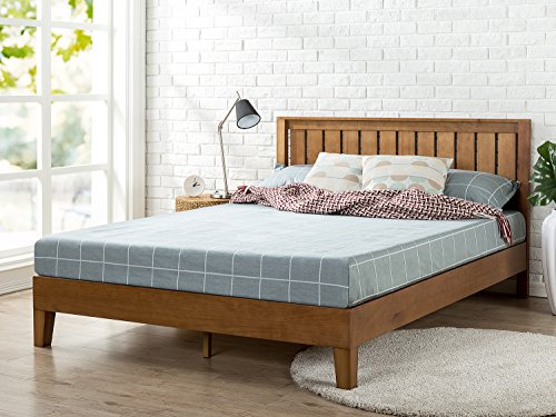 Zinus 12 Inch Deluxe Wood Platform Bed With Headboard No