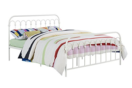 Novogratz Bright Pop Metal Bed Adjustable Height For