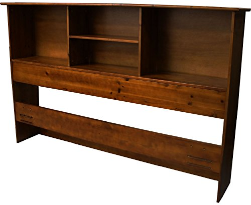 Stockholm Bamboo Solid Bookcase Headboard King Size