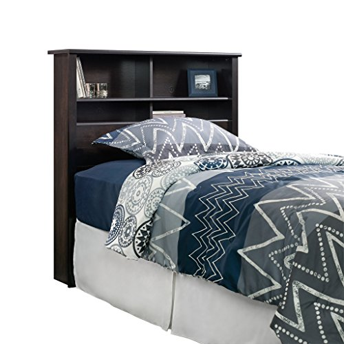 Sauder 419449 Headboard Bed Room Bookcase Twin Estate