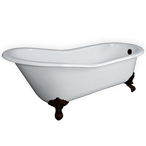 67 Cast Iron Slipper Tub With No Faucet Holes Amp Oil