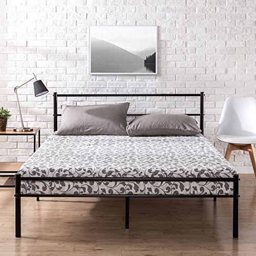 Zinus Metal Platform Bed Frame With Headboard And