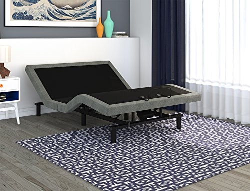 Signature Sleep Power Adjustable Upholstered Bed Base
