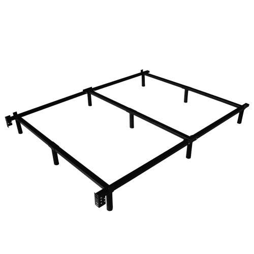 How To Assemble Metal Bed Frame With Center Support King