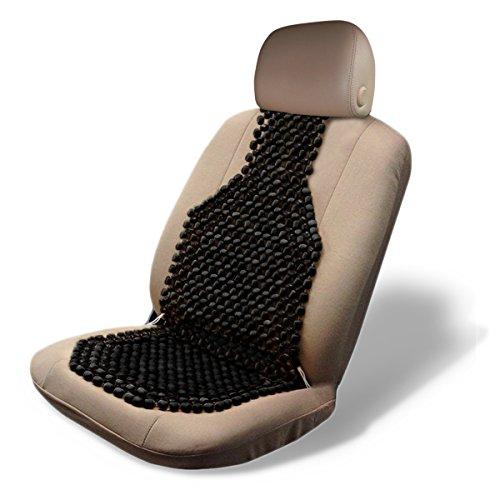 Kool Kooshion Standard Size Ventilated Seat Cushion Black