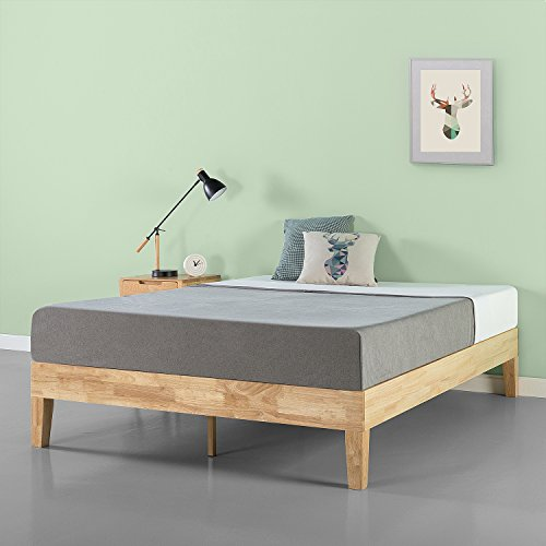 Zinus 14 Inch Deluxe Wood Platform Bed No Boxspring