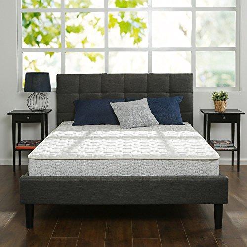 Black Dhp Rose Linen Tufted Upholstered Platform Bed