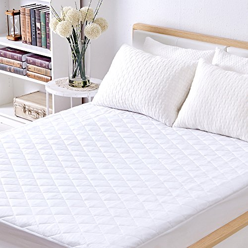 Zinus 4 Inch Low Profile Wood Box Spring Mattress
