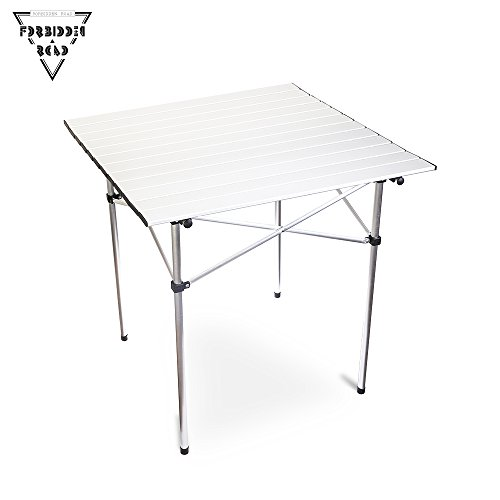 Forbidden road aluminum folding camping table lightweight portable picnic table with carry bag - Small lightweight folding table ...