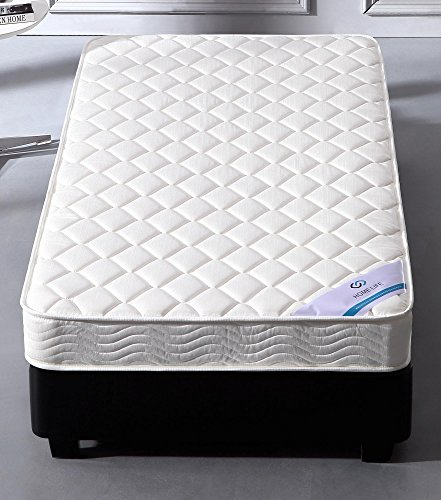 0b67e42d282 Mattress comes compressed and rolled for easy shipping and setup. Twin  mattress measures 39 inches by 75 inches  10 year warranty. Quilted fabric  cover and ...