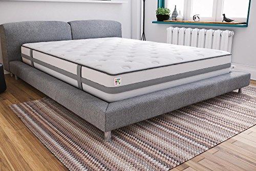 Novogratz Her Majesty Upholstered Linen Bed Tufted