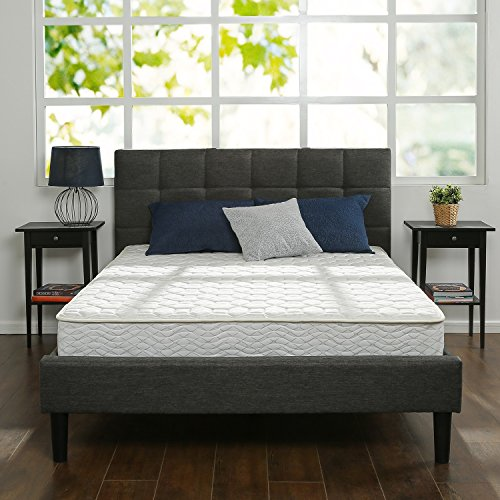 Bed Frame Twin Size Yanni Adrina Easy Set Up Premium