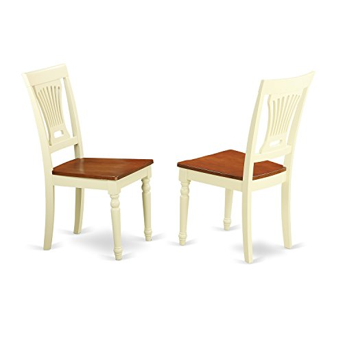 East West Furniture DLT-BMK-TP Dublin Round Table With Two