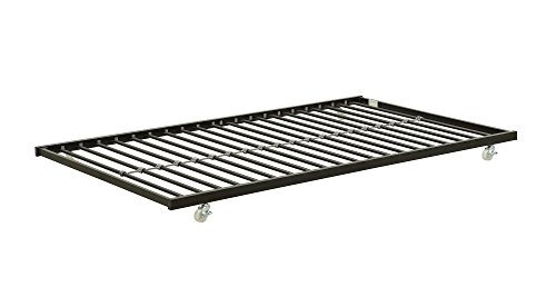 Dhp Ava Metal Daybed Frame With Round Arm Design Twin
