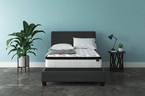 Olee Sleep 18 Inch Tall Heavy Duty Steel Slat Bed Frame T